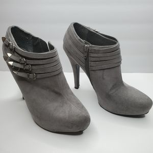 G by Guess Buckle Ankle Booties